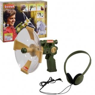 Parabol Richtmikrofon Scout Geräuschevertstärker Kinder Spielzeug