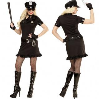 POLIZISTIN - POLICE GIRL - 34/36 (S) Damen Kostüm Polizei Uniform #9461