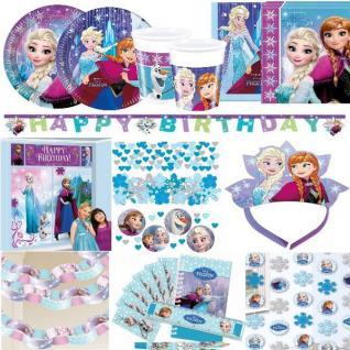 DISNEY FROZEN EISKÖNIGIN Prinzessin Anna Elsa Olaf Kindergeburtstag Party Set