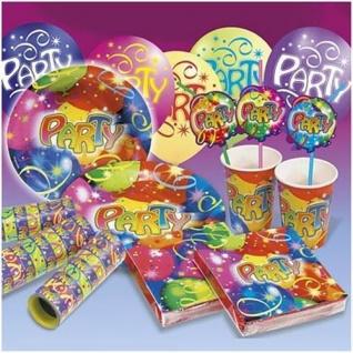 Kindergeburtstag Ballon Party Deko Luftballon Luftschlangen Motto-Party