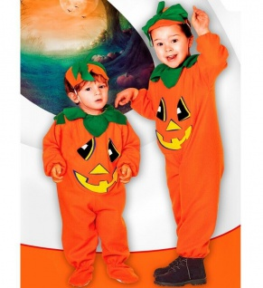 KÜRBIS KOSTÜM KINDER Kleinkinder Halloween Karneval Mädchen Jungen Pumpkin 3618