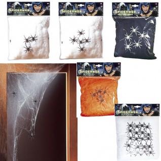 SPINNENNETZ Deko Spinnengewebe Halloween Spinnennetze verschiedene Modelle