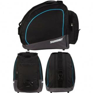 Skischuhtasche Ski Boots Bag Skistiefel Snowboardschuhe Tasche -schwarz/blau-