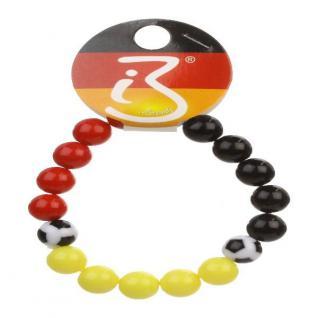 Armband Fußball Kugeln Deutschland Fan Artikel Dekoration WM+EM Auswahl #80161