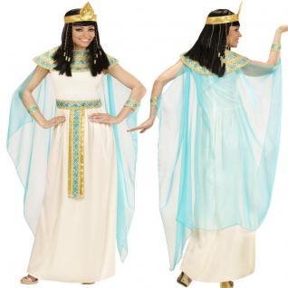Cleopatra Ägypthische Gottheit Damen Kostüm - Pharaonin Karneval Fasching S - XL