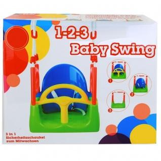 Kinderschaukel Babyschaukel 3 in 1 Gartenschaukel Baby Kinder Garten Schaukel