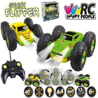 STUNT FLIPPER RC ferngesteuertes Fahrzeug Elektro Spielzeug Auto Kinder Rennauto