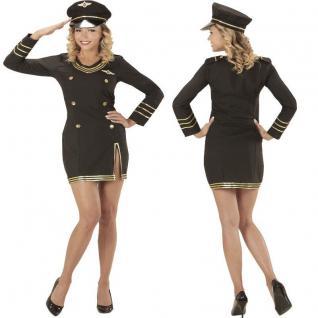 KREUZFAHRT KAPITÄNIN sexy Damen Kostüm Marine Matrosin Seefahrt Gr. S - XXL