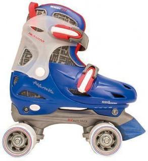 Jungen Rollschuhe größenverstellbar Größe 27 28 29 30 Skater blau