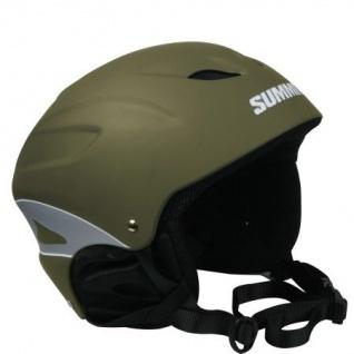 SKIHELM Snowboardhelm Ski Helm olivgrün Gr. S (54-56) Skisport Snowboard Unisex