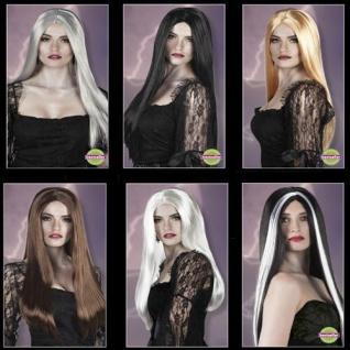 TOP Halloween Hexen Perücke Damen Frauen Perücken günstig Gothic AUSWAHL