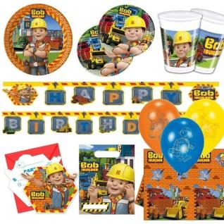 BOB DER BAUMEISTER -Alles zum Kindergeburtstag Motto Baustelle Kinder Geburtstag