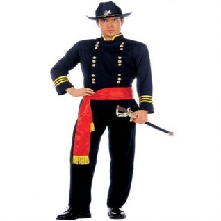 GENERAL Nordstaaten Gr. S 46/48 Herren Kostüm Cowboy Western Anzug Soldat