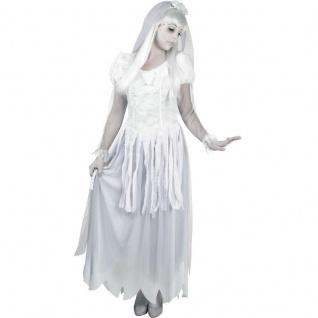 GEISTERBRAUT 36/38 Geister Braut Horror Halloween Karneval Damen Kostüm #9034