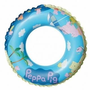 Schwimmreifen 45 cm Beach Peppa Wutz - Peppa Pig Kinder Schwimmring #6265
