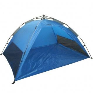 Sonnenschutz Strandmuschel Strandzelt Pop up Automatik Beach Tent - UV Schutz -