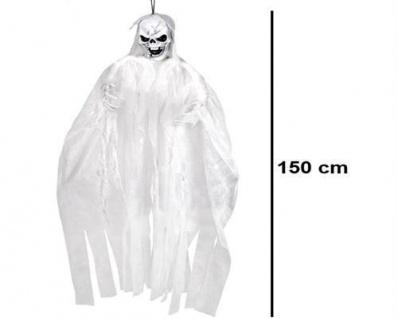 TOTENKOPF BRAUT Halloween Deko Hängefigur - Gespenst Reaper Skull Bride #2117