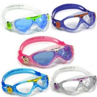 VISTA JUNIOR Aqua Sphere Kinder Schwimmbrille mit Etui - Alle Farben -