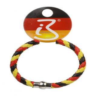 Armband Magnet Fußball Deutschland Fan Artikel Dekoration WM+EM Auswahl #80163