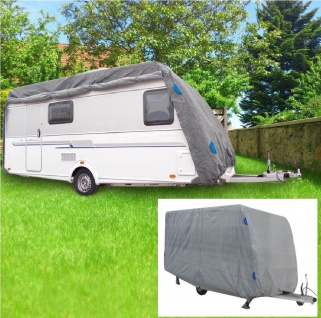Schutzhülle Wohnwagen Caravan 5, 50 x2, 50x2, 20m Wetterschutz Fendt Hobby Detleffs
