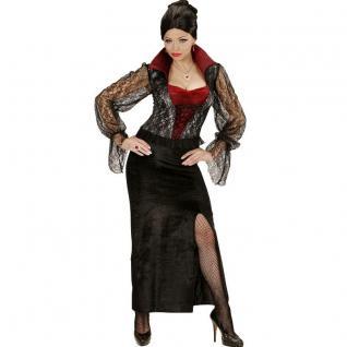 TOP VAMPIRESSA Damen Kostüm 42/44 (L) Zauberin Vampir Hexe Gothic