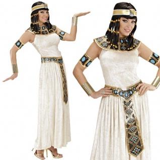 CLEOPATRA ÄGYPTERIN KOSTÜM 34/36 (S) Karneval Damen Kleid Ägypten Pharao 2771