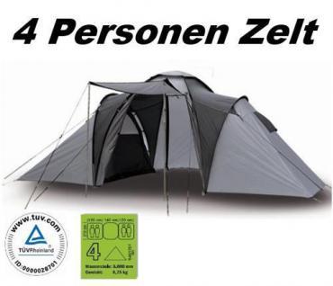 TOP Family-Zelt - Adventure - 4 Personen Familienzelt
