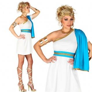 GRIECHISCHE GÖTTIN Sexy Damen Kostüm Griechin Römerin Kleid mit Schärpe & Gürte
