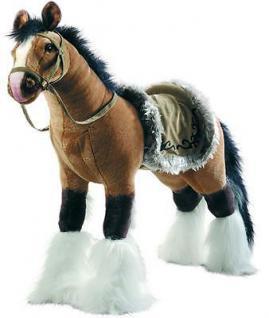 PLÜSCHPFERD Schaukelpferd Reitpferd Plüsch-Pferd Happy People mit Sound 58419