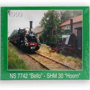 1000 Teile Erwachsenen Puzzle Eisenbahn Zug Lokomotive NEU/OVP 30401