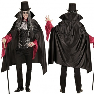 VAMPIR HERREN KOSTÜM M/L 50/52 Graf Dracula Lucian Karneval Fasching Halloween