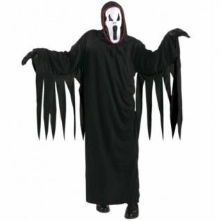 Horror Kostüm Kinder Scream Scary Dämon Geist mit Maske Halloween 128 140 158
