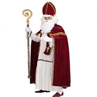 BISCHOFSSTAB Zubehör Kostüm Nikolaus Weihnachtsmann Bischof