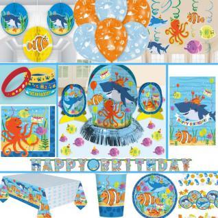 * OCEAN * Kindergeburtstag Geburtstag Party Fete Feier Motto Meer Delfin
