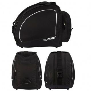 Skischuhtasche Ski Boots Bag Skistiefel Snowboardschuhe Tasche -schwarz/weiß-