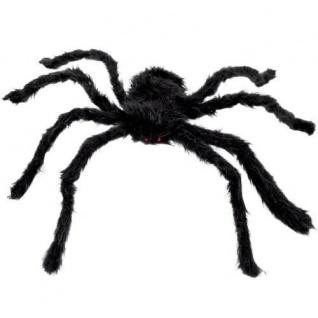 Ø 70 cm  Halloween Deko Spider #7440 braun XXL TARANTULA SPINNE MIT PLÜSCH