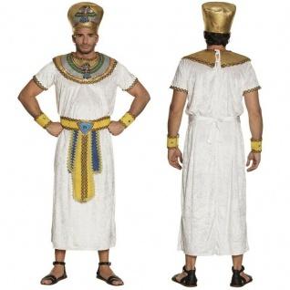 Ägypter Pharao Imhotep Herren Kostüm - Karneval Fasching Griechen Römer