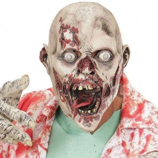 Maske Zerfressener Zombie MADHOUSE ZOMBIE Zombiemaske Horror Halloween 00508