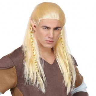 Legolas Elben Perücke Blond Herren Perücke Cosplay Elfenperücke lang Fantasy