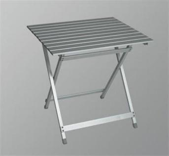 Campingtisch, Gartentisch, Balkontisch, Tisch aus Aluminium, Klapptisch