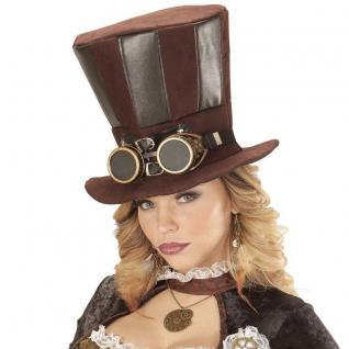 Steampunk Zylinder Rokoko Hut Pirat Barock Mittelalter Retro Gothic Kostüm # 813