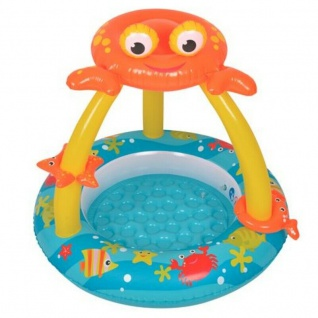Bavy Pool Planschbecken Ø 100x95cm Kinder Badewanne Swimming Pool - CRAB-