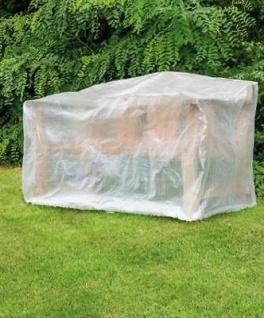 Happy People Schutzhülle Transparent 160x80x75 cm Möbelschutzhülle Gartenbänke