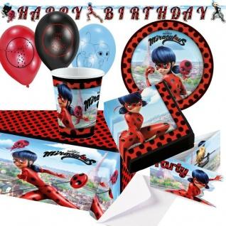 Ladybug Miraculous Party Deko Kinder Geburtstag - alles zu TOP NIEDRIGPREISEN -