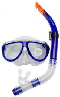 Senior Tauchermaske mit Schnorchel - Erwachsenen Set