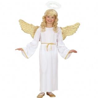 WOW Engel Kinder Kostüm Gr. 128 PREISHIT Engelsverkleidung Engelskostüm 0254