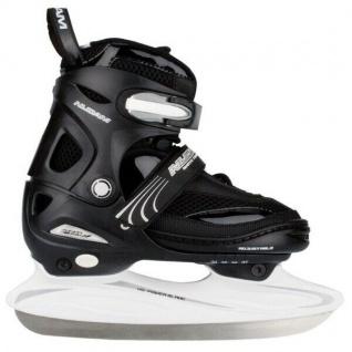 Eishockey Schlittschuhe Softboot Größe verstellbar 30-41 Auswahl Nijdam #3150