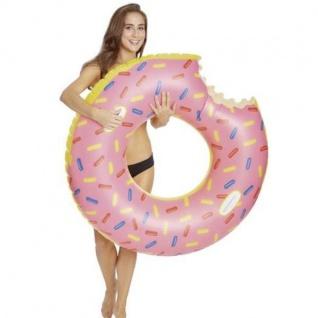 Happy People 77631 Donut XXL Schwimmring 108x32 cm Schwimmreifen Luftmatratze