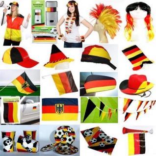 Deutschland FANARTIKEL WM EM Fußball Germany Fahne Flagge Party Hut Fan - Vorschau 1