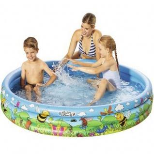3 Ring Pool Biene Kinder Planschbecken rund Ø 150 cm #7737